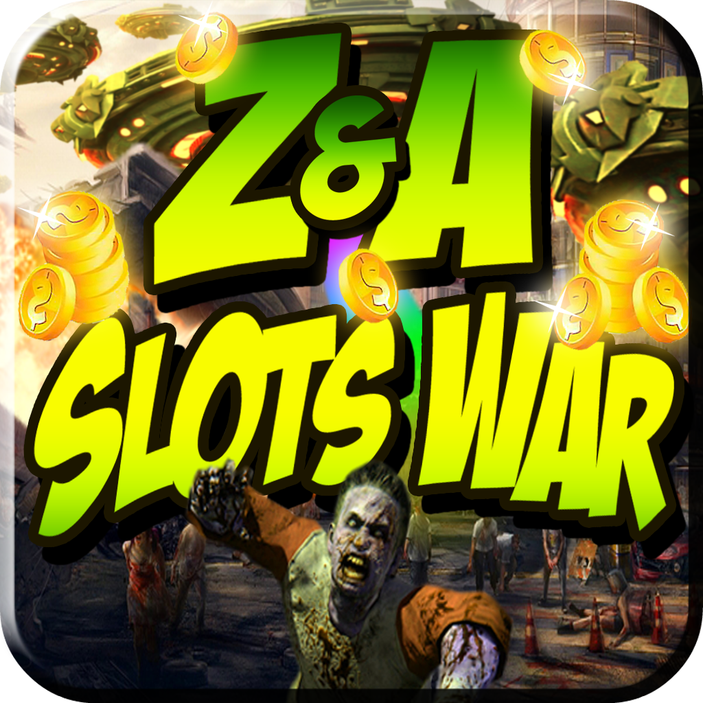 Zombies VS Aliens Slots War Gold Edition